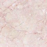 Розовый итальянский мрамор с естественной картиной Стоковая Фотография RF