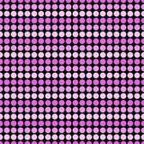 Розовый и черный ба повторения картины плитки дизайна конспекта точки польки Стоковое фото RF