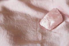 Розовый кварц светя стоковые изображения rf
