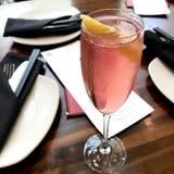 Розовый коктеил стоковые изображения rf