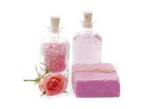 Розовый комплект курорта Стоковая Фотография