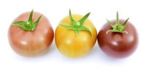 розовый красный желтый цвет томатов Стоковые Фото