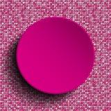 Розовый круг вектора Предпосылка Sequin 10 eps Стоковые Фотографии RF