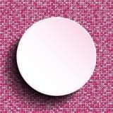 Розовый круг вектора Предпосылка Sequin 10 eps Стоковое Фото