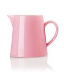 Розовый кувшин фарфора Стоковое Изображение