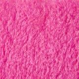 Розовый материал текстуры плюша Стоковые Изображения