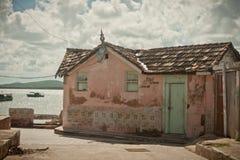 Розовый дом в Кубе Стоковая Фотография RF