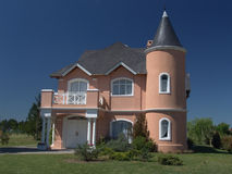 Розовый дом 2 Стоковые Изображения RF