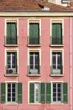 Розовый дом Стоковое Изображение RF
