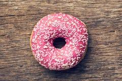 Розовый донут Стоковое Изображение RF