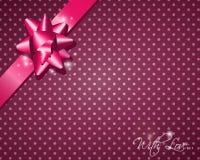Розовый подарок Стоковые Фотографии RF