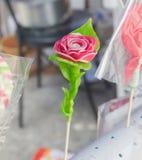 Розовый сахар handmade Стоковые Изображения