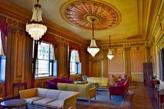 Розовый салон комнаты Стоковое Изображение RF