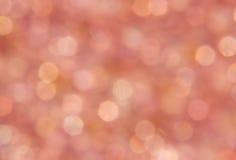 Розовый сверкная свет Стоковые Изображения RF