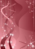 розовый снежок Стоковое фото RF