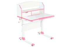 Розовый стол школы Стоковая Фотография RF
