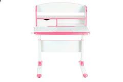 Розовый стол школы Стоковые Фотографии RF