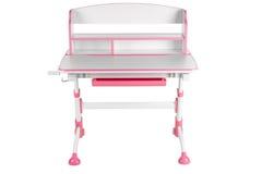 Розовый стол школы Стоковое Изображение RF