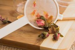 Розовый тонический комплект подготовки чая Стоковая Фотография