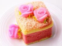 Розовый торт softl Стоковое Изображение RF