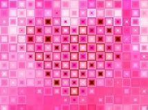 Розовый Харт стоковые фото
