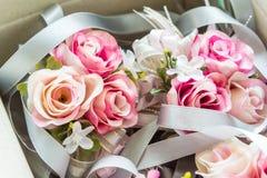 Розовый цветок для wedding украшения Стоковые Фото