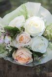 Розовый цветок свадьбы Стоковое Изображение
