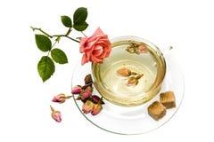 Розовый чай Стоковое фото RF