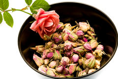 Розовый чай Стоковая Фотография RF