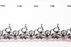 Розовый lacework folwer Стоковое фото RF