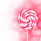 Розовый Lollipop Стоковые Фото