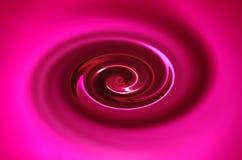 розовый twirl Стоковое Изображение