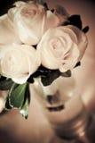 розы букета белые Стоковая Фотография