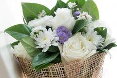 розы букета белые стоковая фотография rf