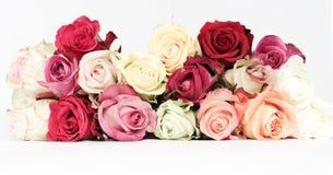 розы букета вводят сбор винограда в моду Стоковое Изображение