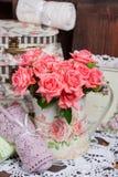 розы букета розовые Стоковое Изображение RF