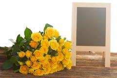 розы букета свежие Стоковая Фотография RF