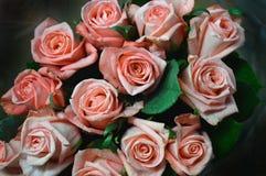 Розы в букете Стоковые Изображения