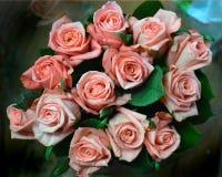 Розы в букете Стоковые Изображения RF