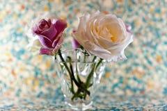 Розы в вазе Стоковая Фотография RF