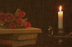 розы жизни все еще Стоковая Фотография