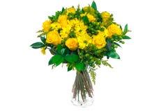 розы изолированные букетом Стоковая Фотография RF