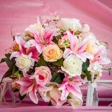 Розы и другие цветки Стоковое Изображение