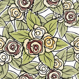 розы картины безшовные Стоковые Изображения RF