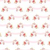розы картины розовые безшовные Стоковые Фото