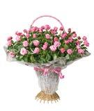 розы корзины Стоковые Фотографии RF