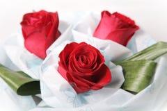 розы красного цвета букета Стоковое фото RF
