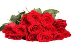 розы красного цвета букета Стоковая Фотография