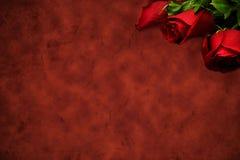 розы красного цвета предпосылки Стоковая Фотография