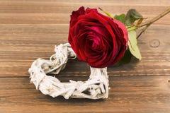 Розы на день и День матери валентинки Стоковые Изображения
